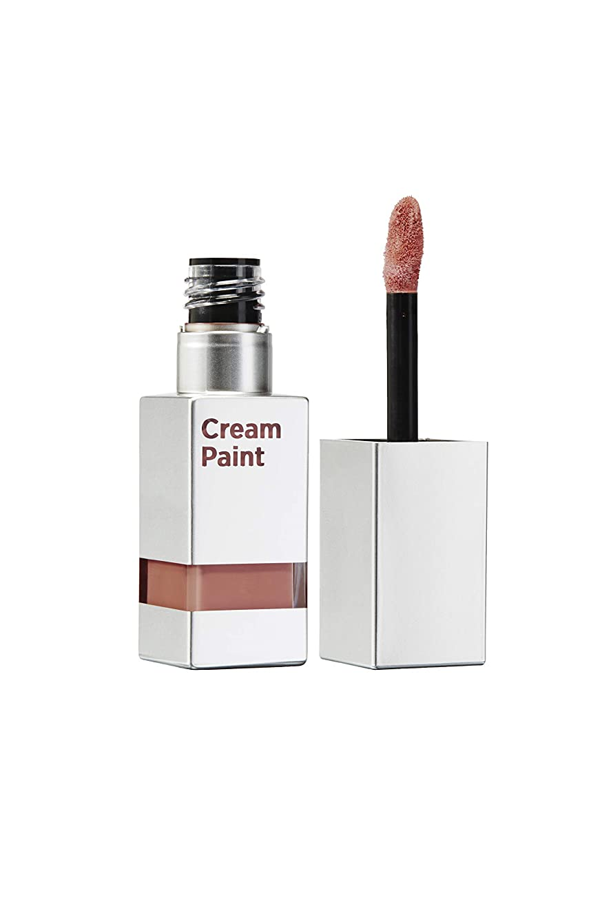 成功したラフ睡眠ほのかムーンショット(moonshot) ブラックピンク クリームペイントライトフィットリップ MLBBリップ マットリップ リップスティック Moonshot Cream Paint Lightfit M212 ペールリーブズ Pale Leaves