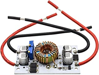 traline Verstellbarer 250 W Hochleistungs Boost Konverter Step Up Modul, mobiles Netzteil Treibermodul, max. 10 A 8,5~48 V bis 10~50 V DC DC