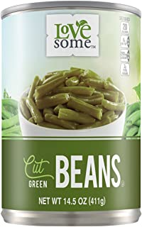 LoveSome Cut Green Beans, 14.5 Ounce (Pack of 24)