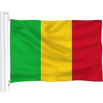 Amazon Com Vista Flags 3x5 Mali Flag Republic Banner African Country Pennant Garden Outdoor