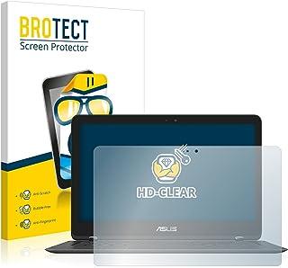 BROTECT Protector Pantalla Compatible con ASUS Zenbook Flip UX360UAK Protector Transparente Anti-Huellas