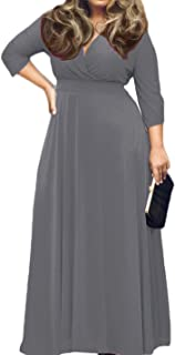 plus size grey formal dresses