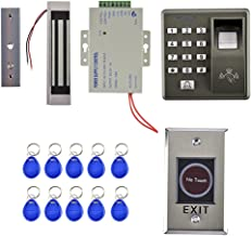Homyl Biometric Fingerprint RFID Password Access Control Systems + Magnetic Lock Full Set for 500Users