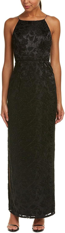 Aidan Mattox Womens Full Length Lace Formal Dress