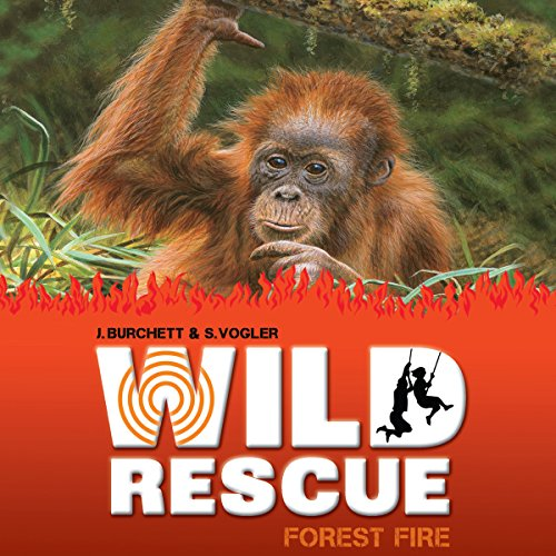 Wild Rescue: Forest Fire audiobook cover art