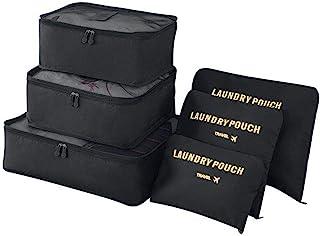 Vicloon Reseväskor, 6 st paket paket set för kläder resa bagage sortering förvaringsväskor