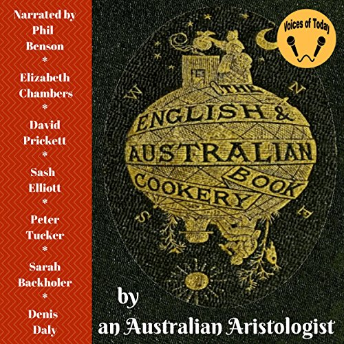 The English & Australian Cookery Book audiobook cover art