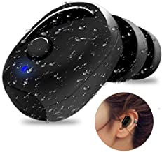 IP68 Waterproof Swimming Earbud - Sport Wireless Bluetooth Headphone - Sweatproof Stable Fit in Ear Workout Headset Special for Swimming Driving Sauna