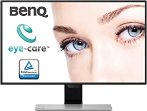 BenQ EW2770QZ 27-inch IPS Display LED Backlit Computer Monitor with HDMI, DP (Black/Silver)