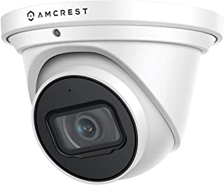 Amcrest UltraHD 4K (8MP) Outdoor Security IP Turret PoE Camera, 3840x2160, 164ft NightVision, 2.8mm Lens, IP67 Weatherproo...