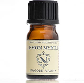 【AEAJ認定表示基準認定精油】NAGOMI PURE レモンマートル 5ml 【エッセンシャルオイル】【精油】【アロマオイル】|CONVOILs