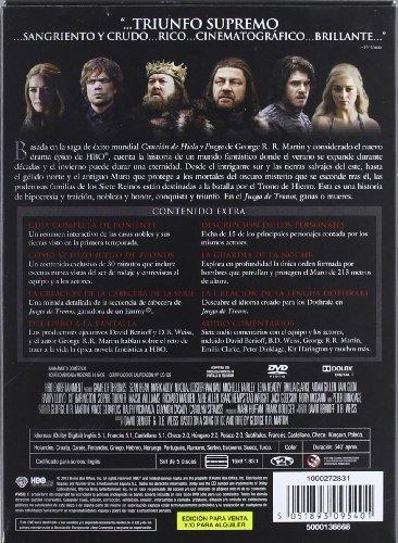 Game of Thrones: The Complete First Season (JUEGO DE TRONOS: PRIMERA TEMPORADA COMPLETA, Spanien Import, siehe Details für Sprac