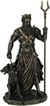 Veronese Hades - Greek God of The Underworld with Cerebrus Statue