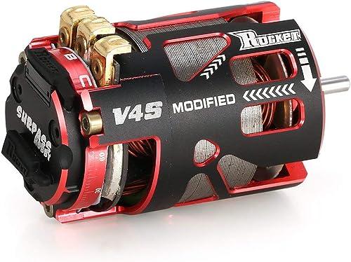 precios bajos SURPASSHOBBY V4S 540 4.5T Sensorojo de de de Motor sin escobillas para RC 1 10 Deriva del Modelo del Coche rojo y negro fghfhfgjdfj  promociones emocionantes