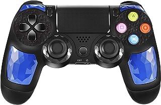 JORREP Controller per PS4, Wireless Controller per Playstation 4/Pro/3/Slim/ PC, Wireless Gamepad Joystick con Shock a Dop...