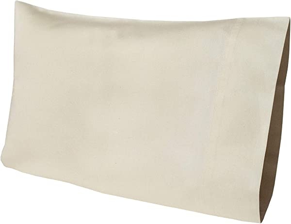 Allyson Brooke Home Organic Cotton Pillow Case 12x18 Perfect Fit For My Pillow Go Anywhere Pillow Natural Color GOTS Certified