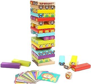 Yunt-11 Torre de Madera Block Colores Juegos de construcció