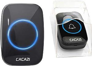 Baoblaze Bateria Operado Doorbell & Carrilhão sem fio À Prova D' Água de Som com Qualidade de CD para Casa e de Escritório...