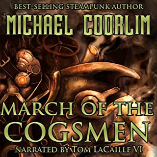 March of the Cogsmen audiobook cover art