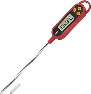 TURATA Thermomètre de Cuisine Thérmo-sonde Thermomètre Cuisson Thermometre à Viande, Lecture Instantanée 5 Secondes Écran ...