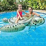 KSTYLE Boyas Inflables Piscina De Tortugas Marinas, Boyas Juego De Playa, Juguetes De Baño Partido, Islas De Piscinas, Balsas Piscina De Verano para Adultos Y Niños