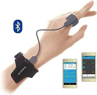 リングO2(リングオーツー) 医療用 スマートパルスオキシメータ 国内医療機器認証取得 【スマホアプリ付 長時間記録】 血中酸素濃度 バイブレーション機能付