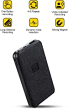 Voice Activated Recorder – Power Bank with 5000mh Great Battery Life for 25 Days Recording and 94 Hours MP3 Audio Recordings Capacity, Build-in Strong Magnet, Portable Charging Device