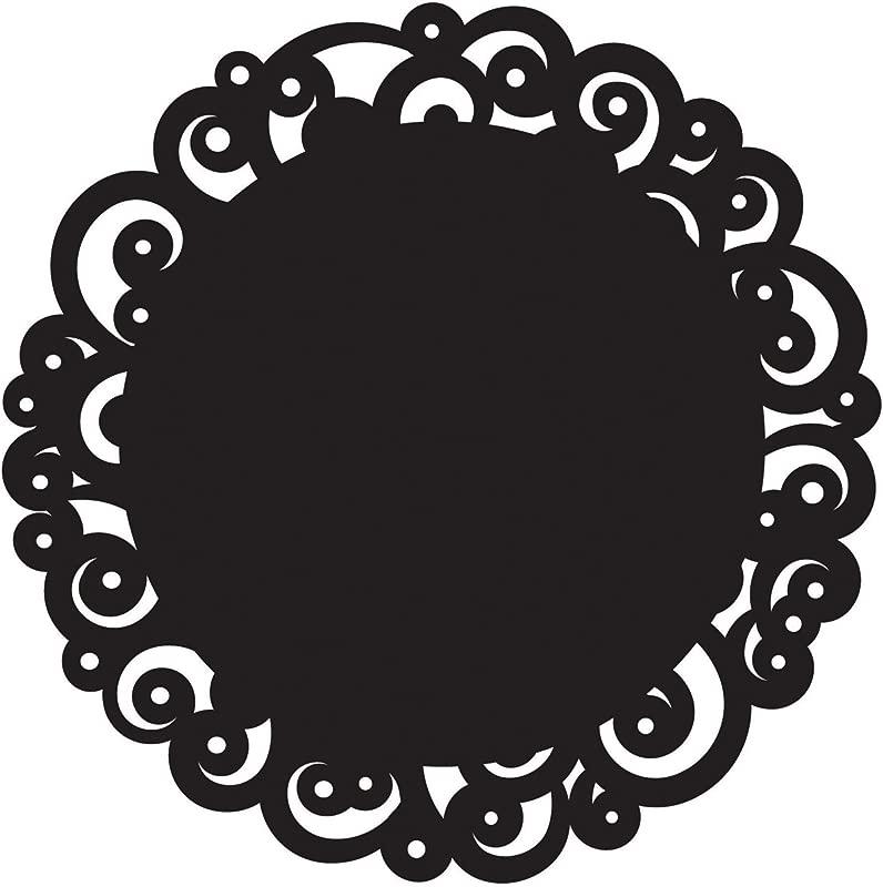 Wilton Black Swirl 12 Inch Cake Doilies 6 Count