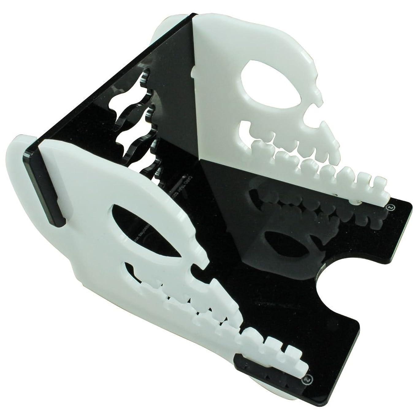 くしゃくしゃ無秩序のためにSkull Deck Tray Kit, 60-100 Standard Card Size (1)