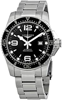 Longines HydroConquest 44MM Auto Stainless Steel Black Dial Men's L3.841.4.56.6