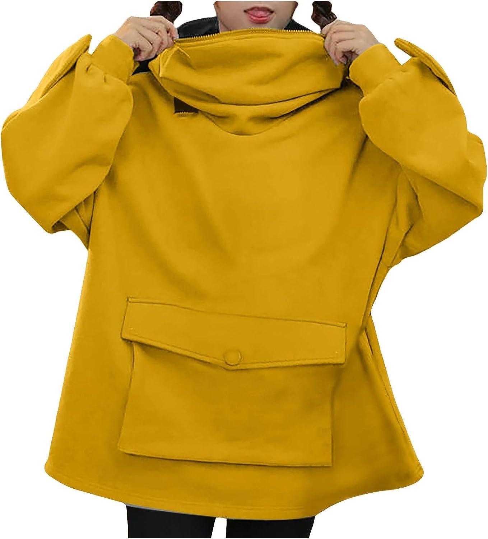 Sweatshirt for Womens Casual Hood Pullover Teens Girls Cute Animal Cosplay Hoodie Tops Kawaii Jumper Comfy Coat
