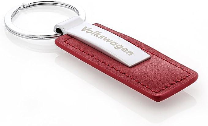 Metal Enamel Classic Red VW Beetle Key Ring//Purse Charm Key Chain// Zipper Pull