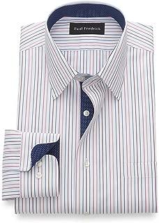 Men's Classic Fit Non-Iron Cotton Pinpoint Stripe Dress...