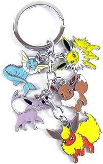"WinVI Poke'mon Collection Pikachu 3.8"" Keychain Key Ring Key Chain (Pokemon3)"