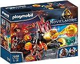 PLAYMOBIL Novelmore 70394 Catapulta de Lava de los Bandidos de Burnham, Para Niños de 4 y 10 Años de Edad