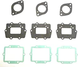 M-g 33159-9 Carburetor Gaskets and Reed Cage Gaskets for Kawasaki 900,1100, 1200, Zxi, Sts, Stx, Ultra-150