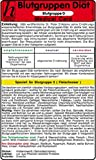 Blutgruppen Diät - Blutgruppe A - Medical Card
