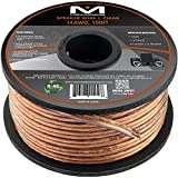 Mediabridge 14AWG Speaker Wire (100 Feet) - Spooled Design with Sequential Foot Markings bluetooth audio amplifiers May, 2021
