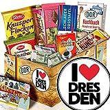I love Dresden / Geschenk für Dresden Fan / Schokoladen Box DDR