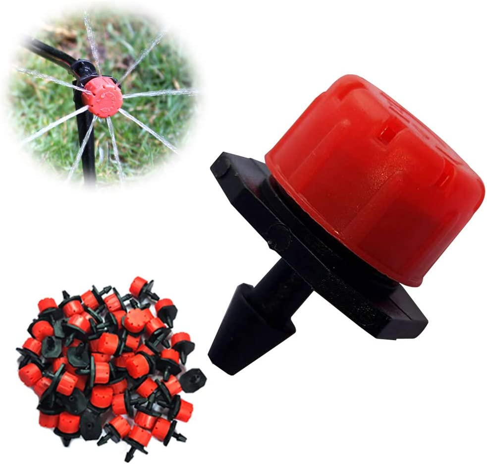 AIYAYI 50Pcs1 unisex 4Inch Limited price sale Adjustable Wa Drippers Irrigation Sprinklers