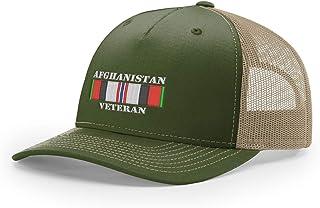 USAMM Afghanistan Veteran Ribbon Embroidered Richardson Hat