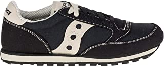 Saucony Originals Men's Jazz Low Pro Vegan Sneaker,Black/Oatmeal,11.5 M