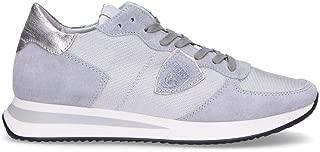 Philippe Model Luxury Fashion Womens TZLDWR03 Grey Sneakers | Fall Winter 19