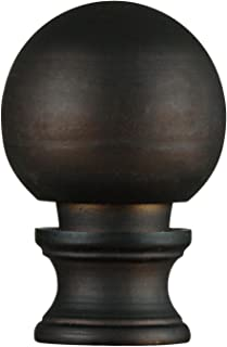 Westinghouse Lighting 7000500 Oil Rubbed Bronze Finish Ball Lamp Finial