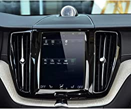 BUENNUS 8.7 Inch Navigation Display Screen Protector for Volvo XC90 2015-2019,S90 2016-2018,V90 2017-2019,XC60/XC40/S60/V60 2019 Sensus Center Touch Screen Tempered Glass Film Cover Anti Scratch