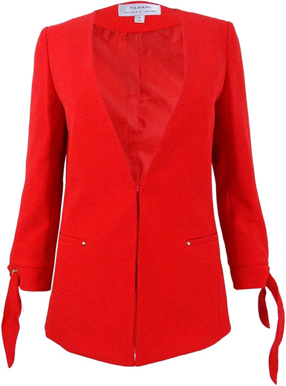 Tahari ASL Womens Plus Office Wear Business Attire Jacket