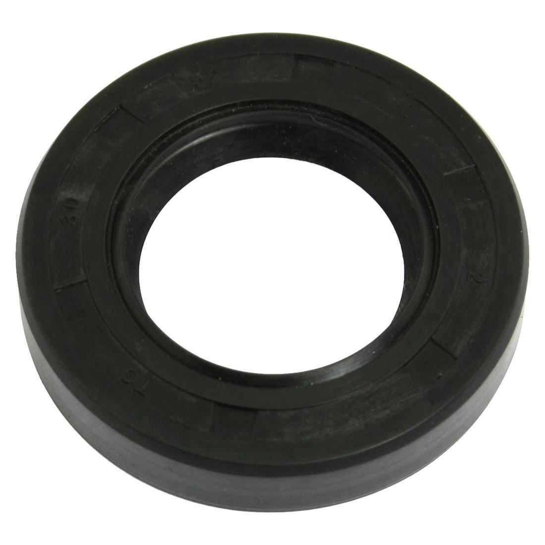 28x40x8mm xjs Nitrile Rubber Double Lip TC Oil Shaft Seal Black 5 Pcs