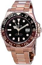 Rolex GMT-Master II Automatic Men's 18kt Everose Gold Oyster Coke Bezel Watch 126715BKSO