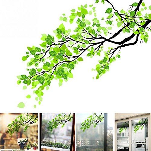 Pegatina autoadhesivo modelo rama con hojas para ventanas hogar escaparates comercios mamparas baño CHIPYHOME: Amazon.es: Bricolaje y herramientas