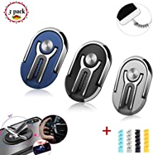 3 Pack Phone Ring Holder Multipurpose Mobile Smartphone Bracket Rotating Phone Holders Rotating 360 Degree Vent Clip Phone Mount Phone Accessories for Car